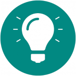 Icon, welches dem Nutzer leichtes Lernen von Onlinemarketing auf unserer Webseite demonstrieren soll.